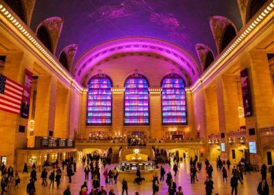 Grand Central Terminal New York Holiday Light Show